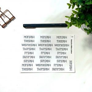 Type Writer Lettering