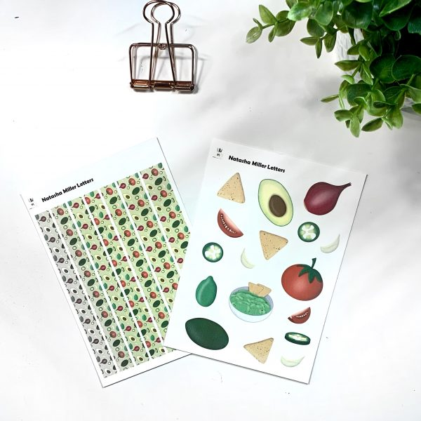 What the Guac Sticker Sets