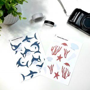 Shark Fest Sticker Sets